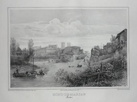 MONT-DE-MARSAN (Landes).. TIRPENNE;MONTHELIER;