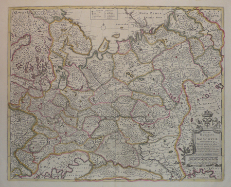 [RUSSIE] Imperii Russici, sive Moscoviae.. WIT (Frederick de);