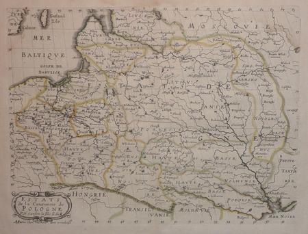 Estats de la couronne de Pologne.. SANSON d'ABBEVILLE (Nicolas);
