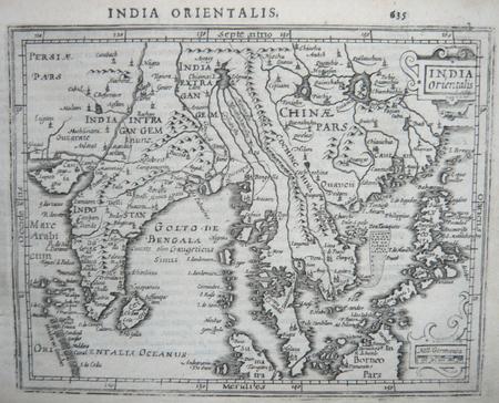 [ASIE DU SUD-EST] India orientalis.. MERCATOR (Gerard) & HONDIUS (Jodocus).