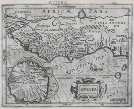 [GUINEE] Guinea.. MERCATOR (Gerard);HONDIUS (Jodocus);