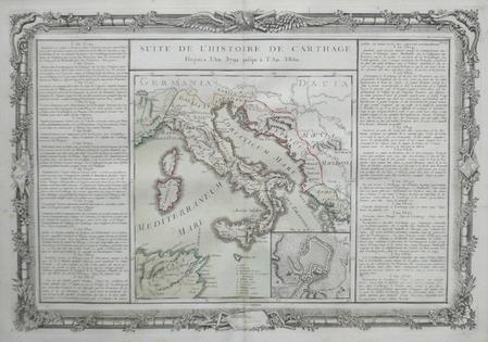 Suite de l'histoire de Carthage depuis l'an 3791 jusqu'à l'an 3860.. BUY de MORNAS (Claude);