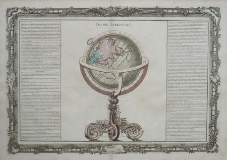 Globe terrestre.. BUY de MORNAS (Claude);