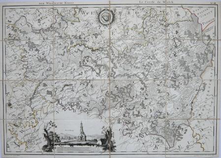 [ESTONIE/LETTONIE] Der Walcksche Kreis - Le cercle de Walck.. MELLIN (Graf Ludwig August von).