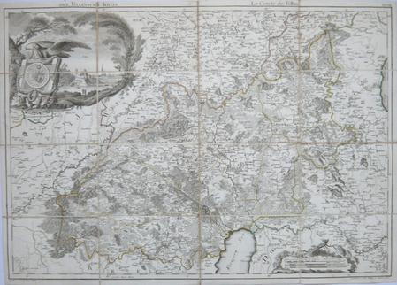 [ESTONIE] Der Fellinsche Kreis - Le cercle de Fellin.. MELLIN (Graf Ludwig August von).