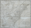 Carte générale des Etats-Unis de l'Amérique septentrionale divisée en ses 17 provinces.. CAPITAINE (Louis);