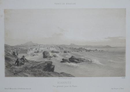 [PAYS BASQUE] Biarritz - Vue générale prise du phare.. ARNOUT (Jules);