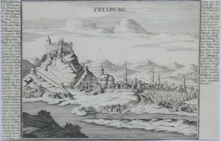 [SLOVAQUIE] Presburg.. BODENEHR (Gabriel);