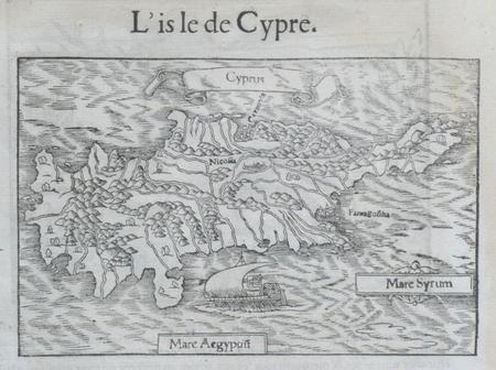 [CHYPRE] L'Isle de Cypre.. MUNSTER (Sebastian);