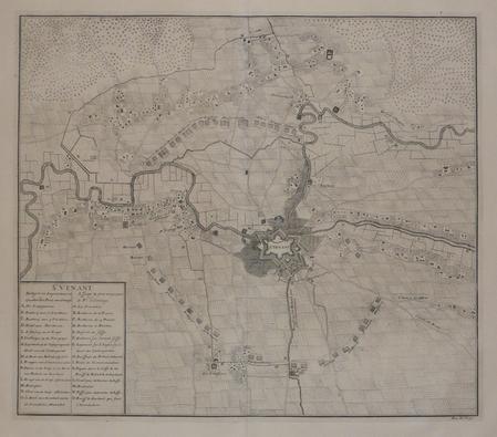 [SAINT-VENANT] St. Venant assiégé & pris en 1710 par le Pr. d'Orange.. DUMONT (Jean);