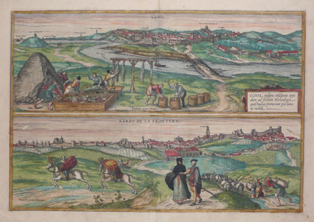 [ANDALOUSIE] Conil - Xeres de la Frontera.. BRAUN (Georg);HOGENBERG (Frans);