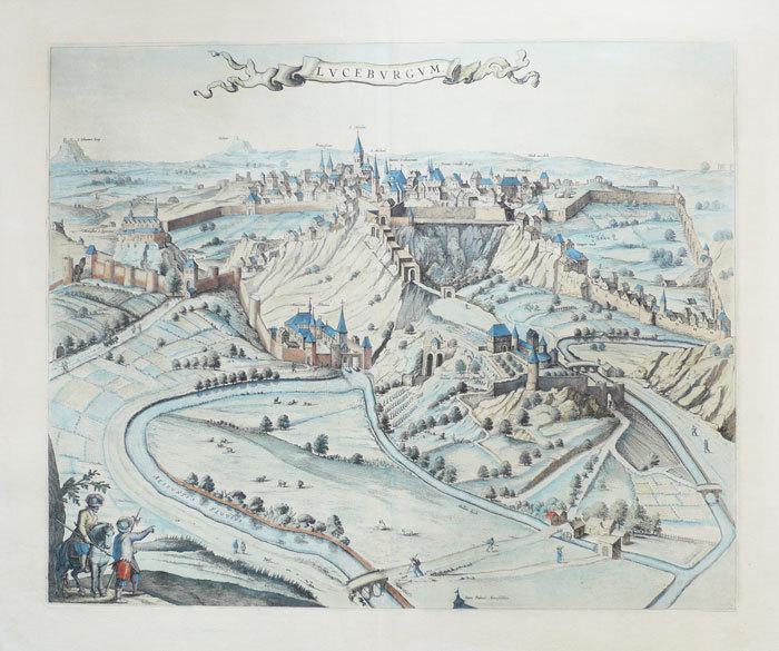 [LUXEMBOURG] Luceburgum.. BLAEU (Johannes);