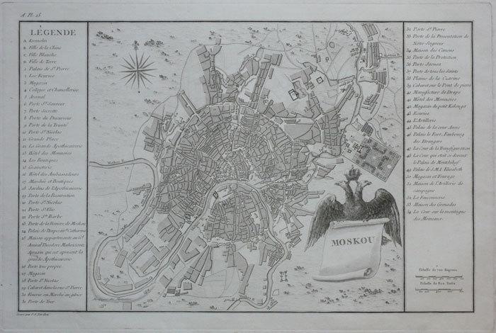 Moskou.. TARDIEU (Pierre François);