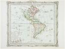 L'Amérique dressée pour l'étude de la géographie.. BRION de la TOUR (Louis).