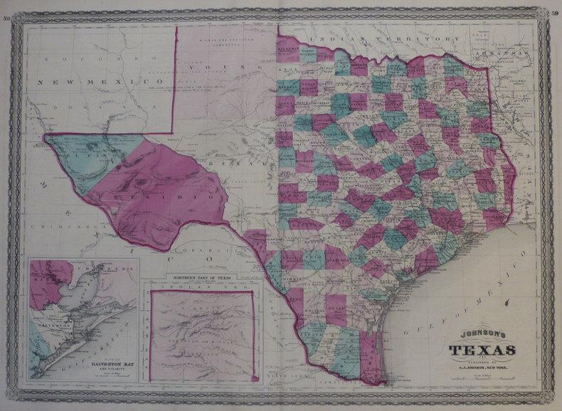 Johnson's Texas.. JOHNSON (Alvin Jewett);