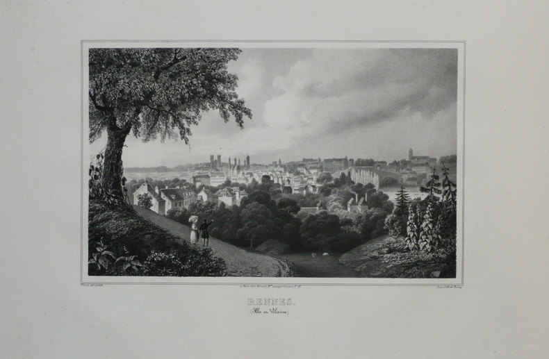 RENNES (Ille et Vilaine).. VIARD;