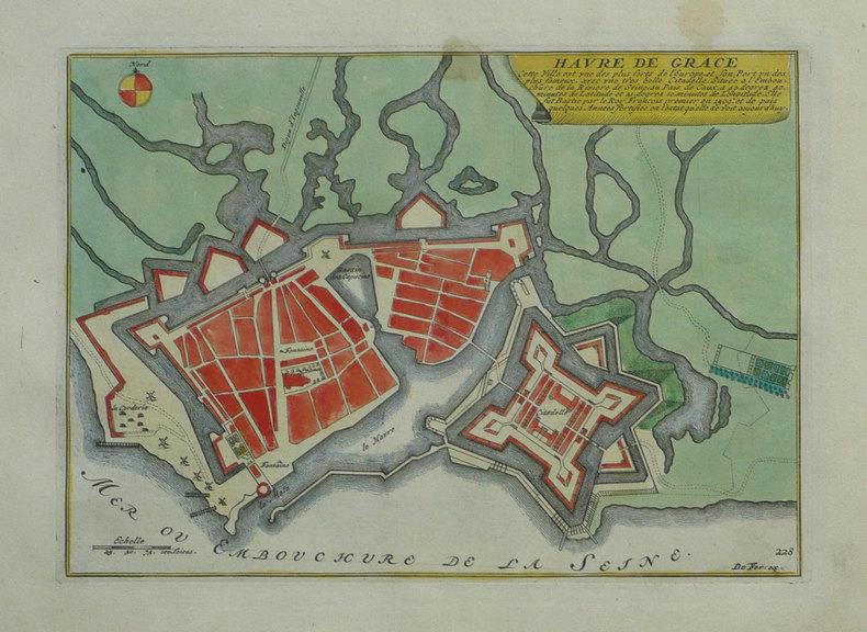Havre de Grâce.. FER (Nicolas de);