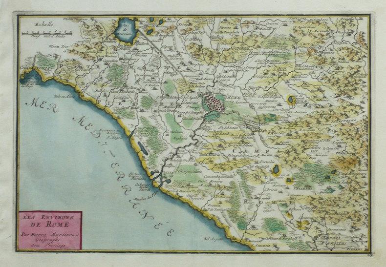 Les Environs de Rome.. FER (Nicolas de);