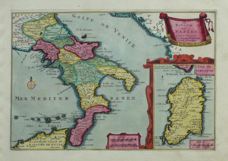 Le Royaum de Naples.. FER (Nicolas de);