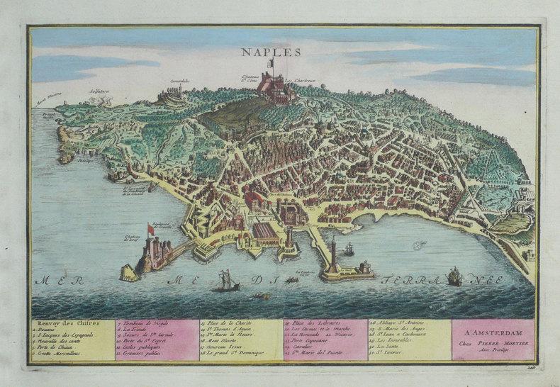 Naples.. FER (Nicolas de);