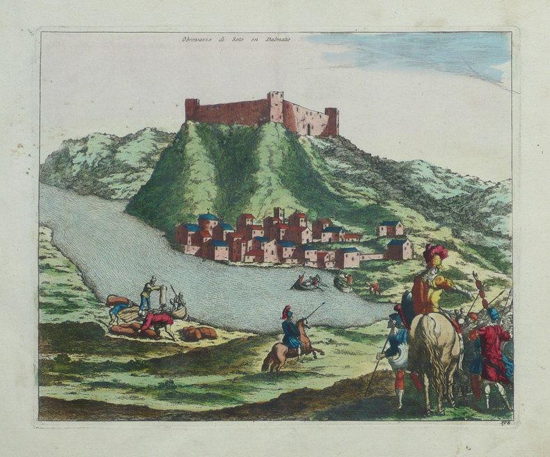 [CROATIE] Obrowazzo di Soto en Dalmatie.. FER (Nicolas de);