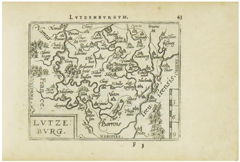 [LUXEMBOURG] Lutzeburg.. ORTELIUS (Abraham).