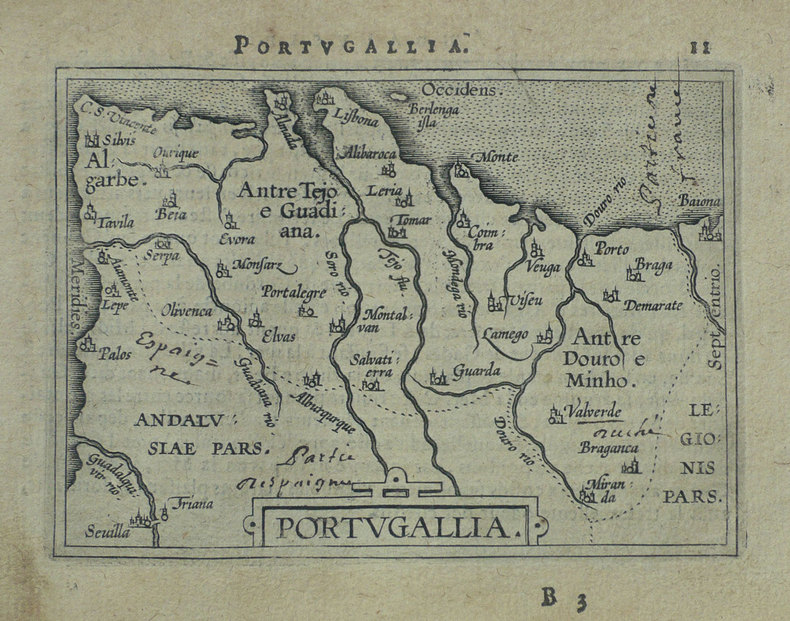 Portugallia.. ORTELIUS (Abraham);