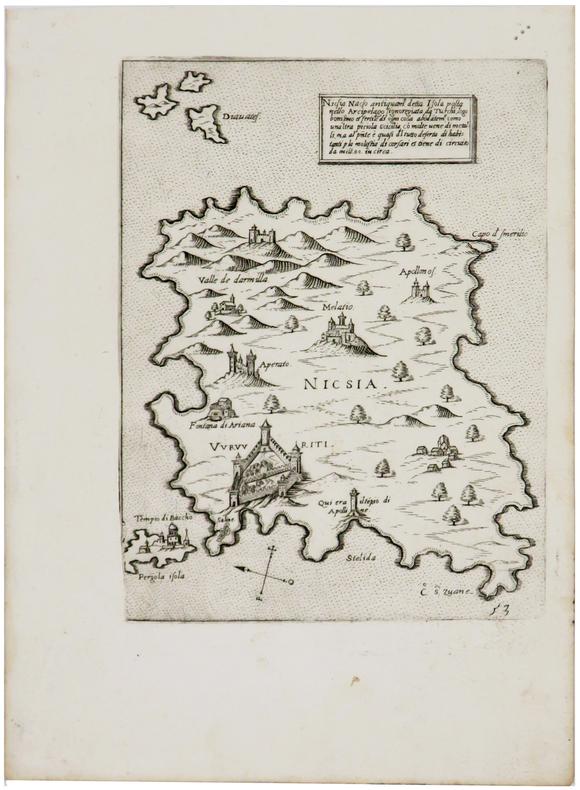 [NAXOS] Nicsia Nacso.. CAMOCIO (Giovanni Francesco).