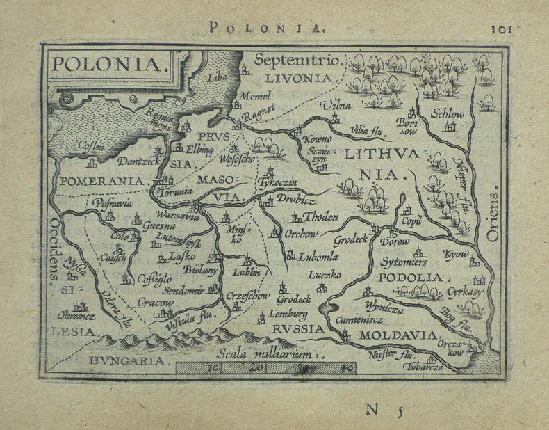 Polonia.. ORTELIUS (Abraham);