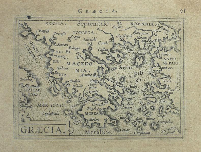 Graecia.. ORTELIUS (Abraham);