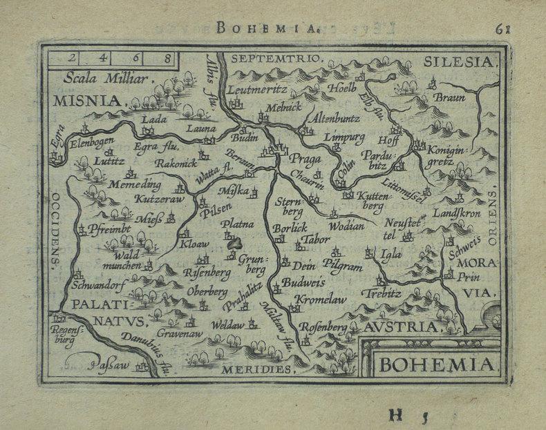 [REPUBLIQUE TCHEQUE] Bohemia.. ORTELIUS (Abraham);