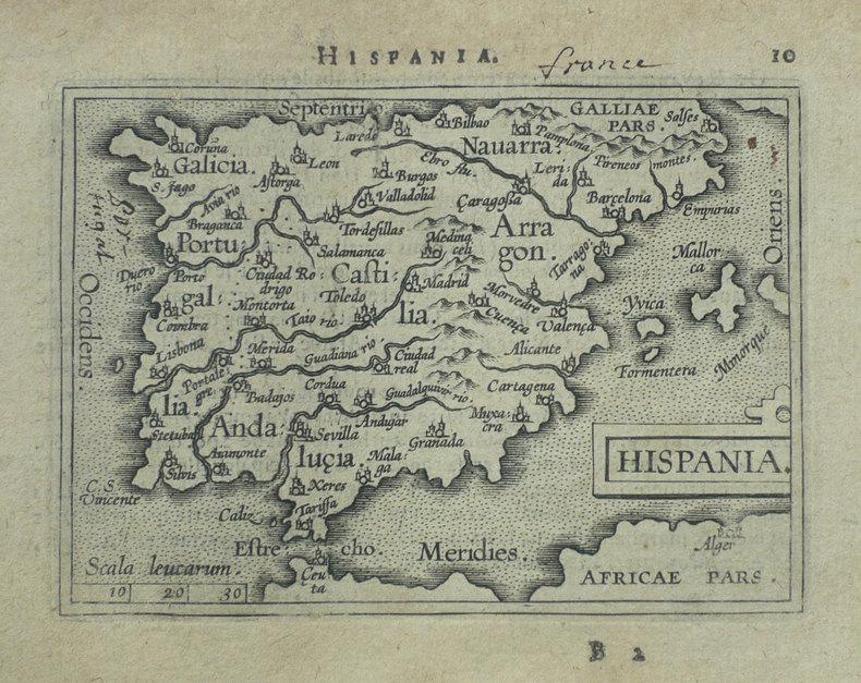 Hispania.. ORTELIUS (Abraham);