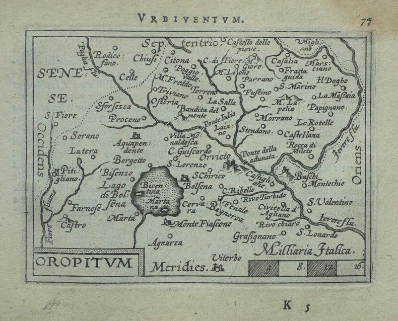 [ORVIETO] Oropitum.. ORTELIUS (Abraham);