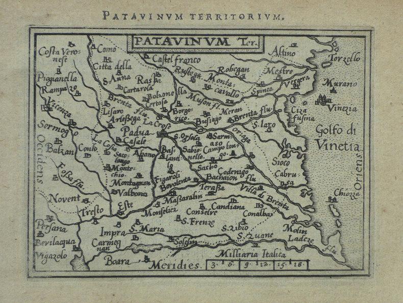 [PADOUE] Patavinum.. ORTELIUS (Abraham);