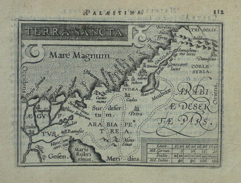 Terra sancta.. ORTELIUS (Abraham);