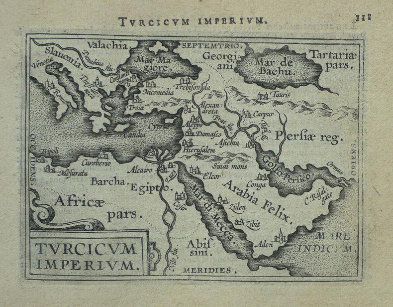 Turcicum Imperium.. ORTELIUS (Abraham);