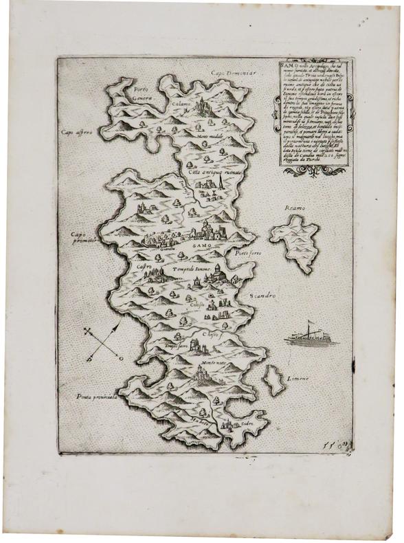 [SAMOS] Samo nello arcipelago.. CAMOCIO (Giovanni Francesco).