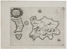 [SANTORIN] S. Erini et Thiresia insule poste nell'arcipelago.. CAMOCIO (Giovanni Francesco).