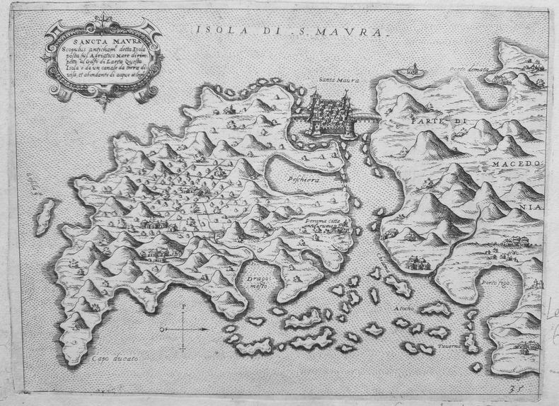 [LEUCADE] Sancta Maura.. CAMOCIO (Giovanni Francesco).