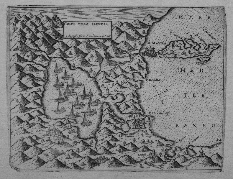 [PREVEZA] Golfo della Prevesa.. CAMOCIO (Giovanni Francesco).