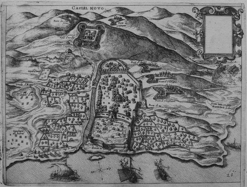 [MONTENEGRO/HERCEG NOVI] Castel Novo.. CAMOCIO (Giovanni Francesco).