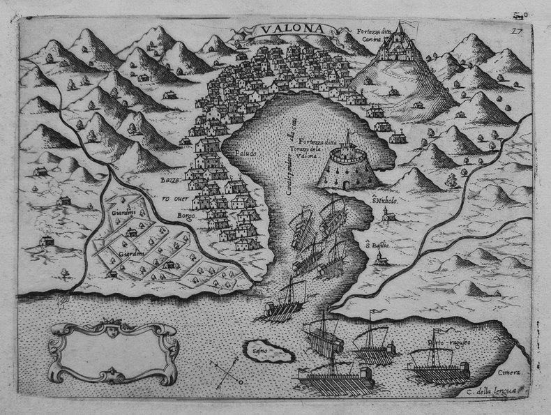 [ALBANIE/VLORA] Valona.. CAMOCIO (Giovanni Francesco).