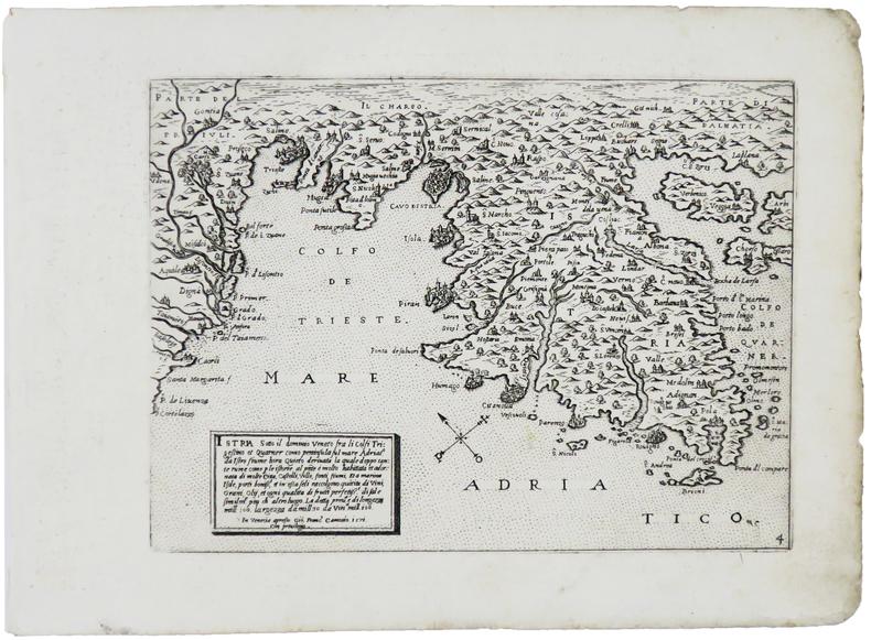 [CROATIE/ISTRIE] Istria sotto il dominio veneto.. CAMOCIO (Giovanni Francesco).
