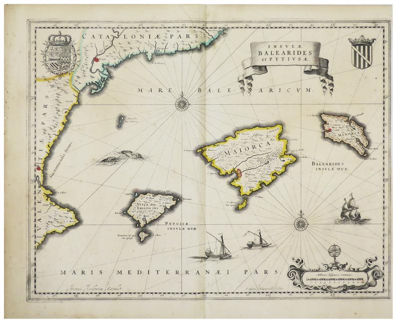 [BALEARES] Insulae Balearides et Pytiusae.. JANSSON (Joannes).