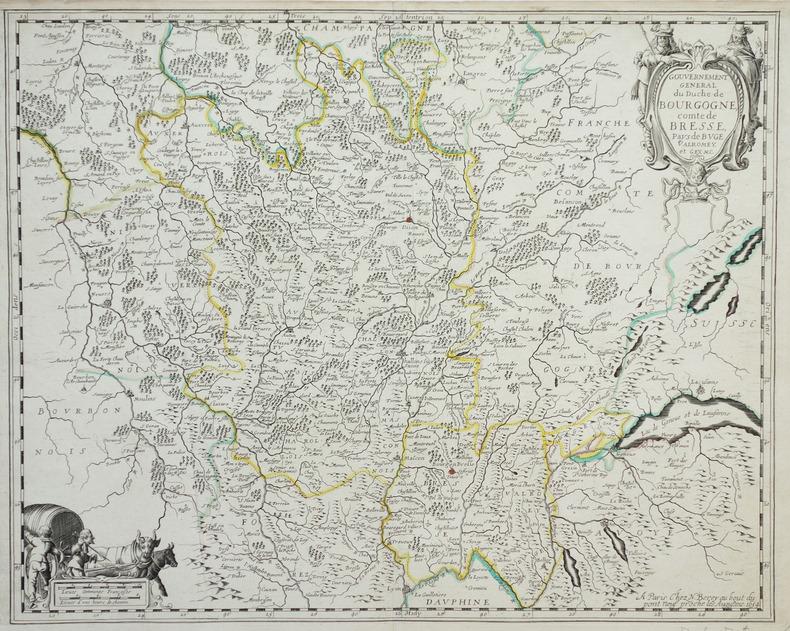 [BOURGOGNE] Gouvernement général du duché de Bourgogne, comté de Bresse, pays de Buge, Valromey, et Gex &c.. BEREY (Nicolas).