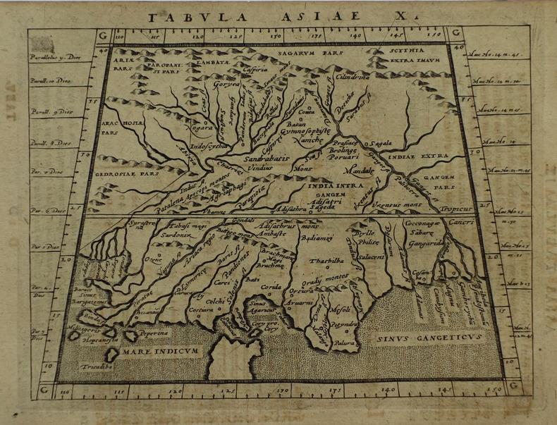 Tabula Asiae X.. MAGINI (Giovanni Antonio) & PTOLEMEE (Claude).