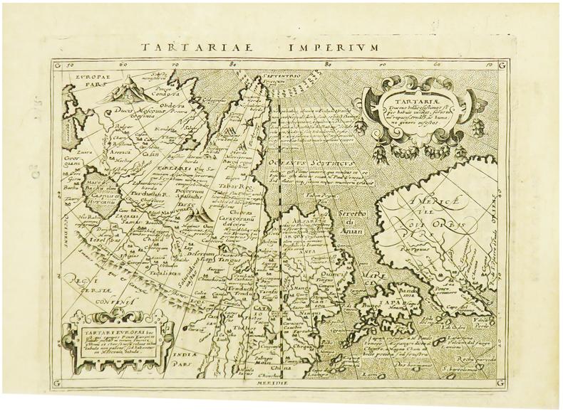 Tartariae imperium.. MAGINI (Giovanni Antonio) & PTOLEMEE (Claude).