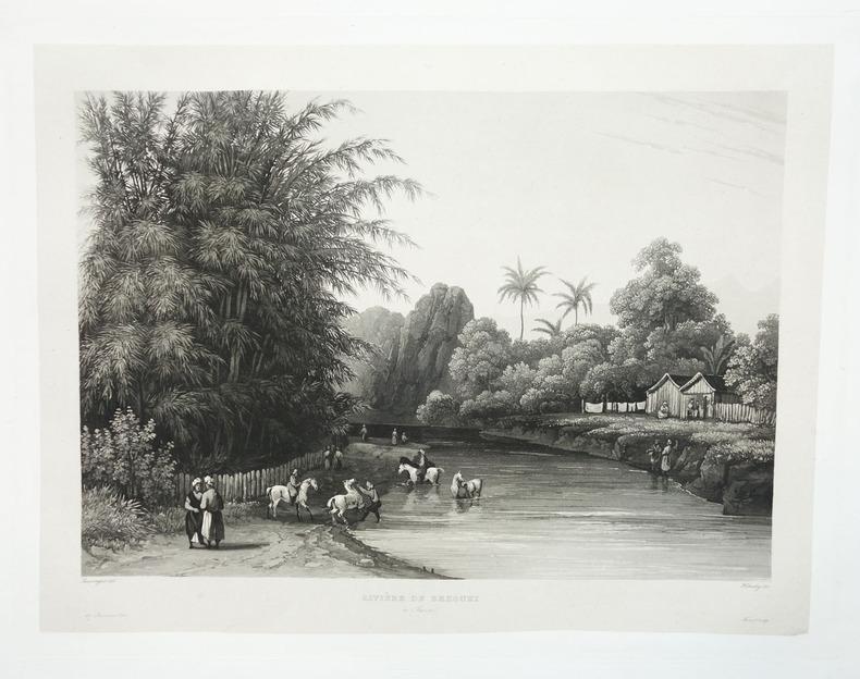 [JAVA] Rivière de Bezouki à Java.. LAPLACE (Cyrille Pierre Théodore).