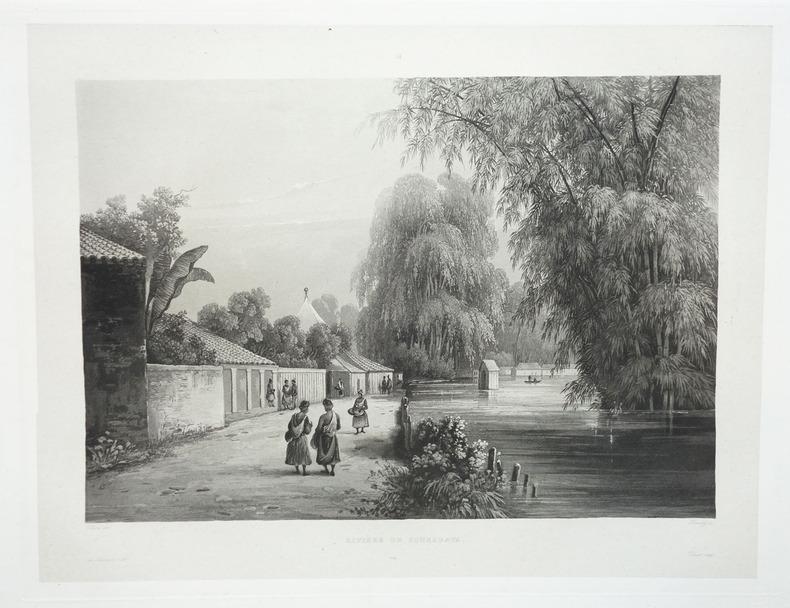 [JAVA] Rivière de Sourabaya.. LAPLACE (Cyrille Pierre Théodore).