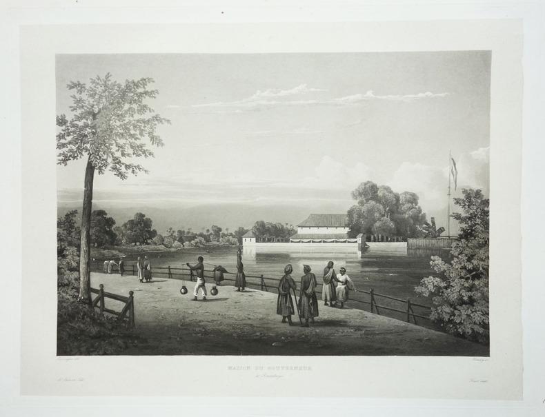 [JAVA] Maison du gouverneur à Sourabaya.. LAPLACE (Cyrille Pierre Théodore).
